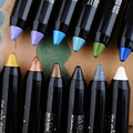 Professional Lady Makeup M.n Eye Shadow Pencil Set Waterproof Eyeliner Pencil Make Up Eye Liner Crayon Cosmetics Pen 25609