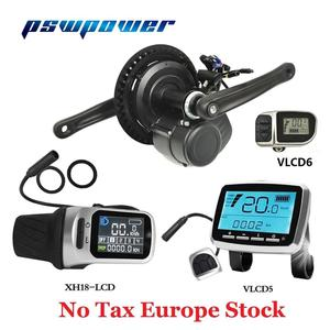 Europe or RU stock Tongsheng 36V 250W/350W TSDZ2 VLCD5 XH-18 VLCD6 LCD electric bicycle central mid motor with torque sensor(China)