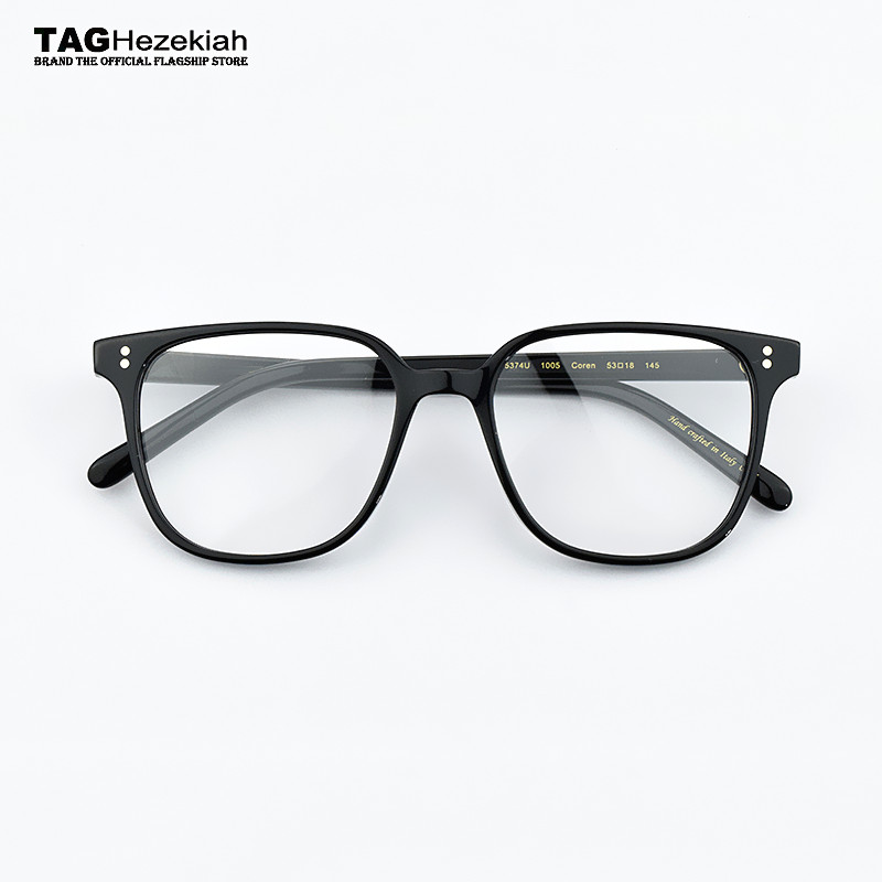 a648c26fcf Vintage optical glasses frame Big box ov5374 reading glasses women and men  eyewear frames Transparent myopia computer eye glasse-in Eyewear Frames  from ...