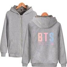 BTS Winter Zip Up Hoodie-Jacket