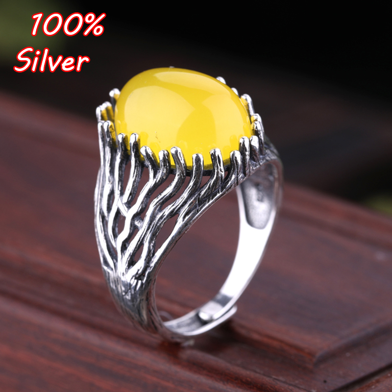 12*17MM 925 Sterling Silver Ring Setting Oval Cabochon Base Adjustable Blanks Supplies For Jewelry Making