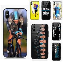 Bicycle Race Team Sky Team Cycling For Apple iPhone X XS Max XR 5 5C 5S eb09c2437