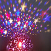 New Star Moon Sky Rotation Night Light Romantic Projector Light Projection With High Quality Kids Bedsides