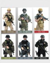 PATTIZ 1/6 12 SWAT фигурку модель игрушки Военная армейская боевая игра игрушки мальчики день рождения Бесплатная доставка