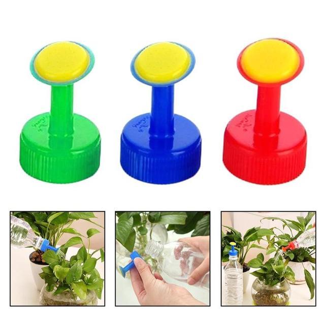 1 pz di Plastica Casa di Irrigazione Pentola Bottiglia Ugello Per 3 cm Bottiglia