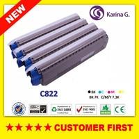 New Compatible Color Toner for OKI C822 Toner Cartridge for Okidata C822 etc.