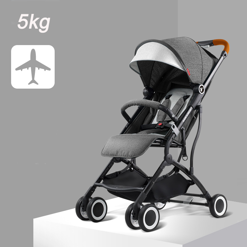 Baby stroller light can sit can lie umbrella strollers folding child trolley 4 wheels baby stroller ultra light on the airplane logitech h150 cloud white 981 000350