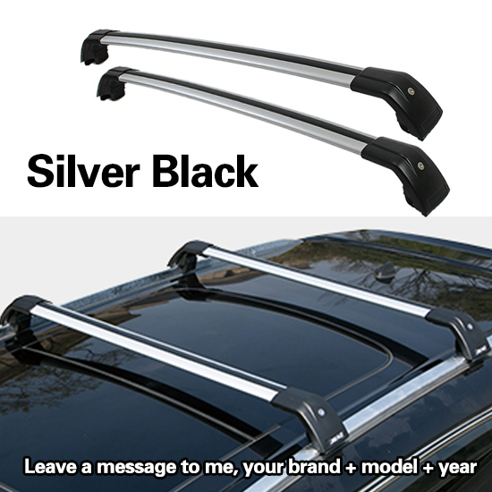 d8afdb95a9cd SHITURUI 2Pcs Roof bars For Hyundai tucson SUV 2015-2019 Aluminum Alloy  Side Bars Cross Rails Roof Rack Luggage
