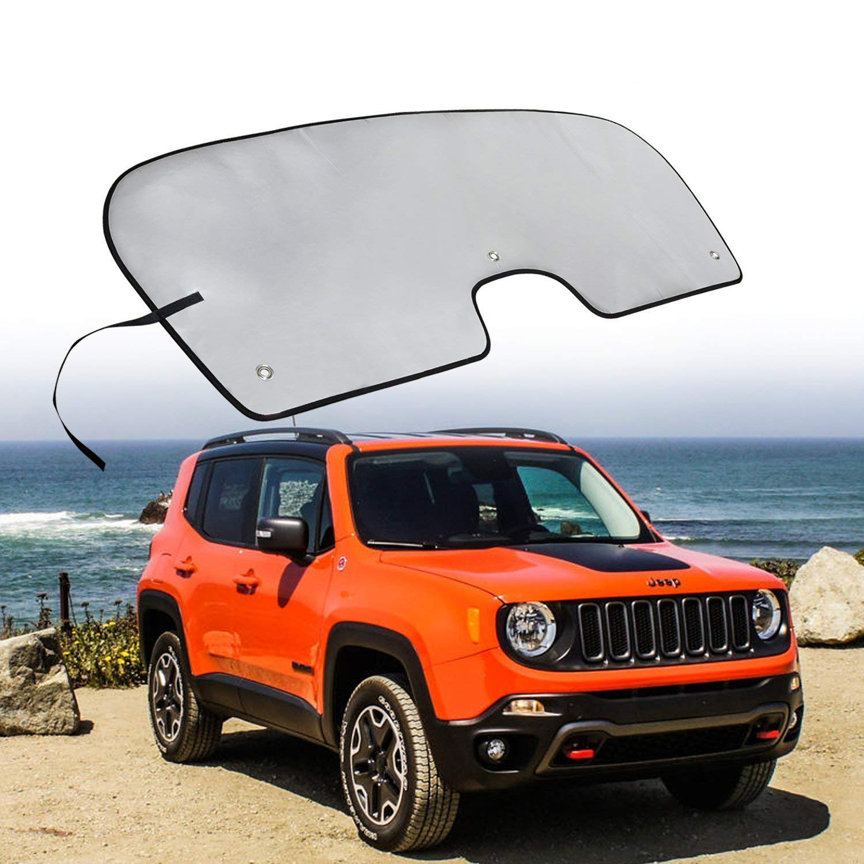 Windshield Sun Shade Visor Sunshade Cover For Jeep Renegade 2015