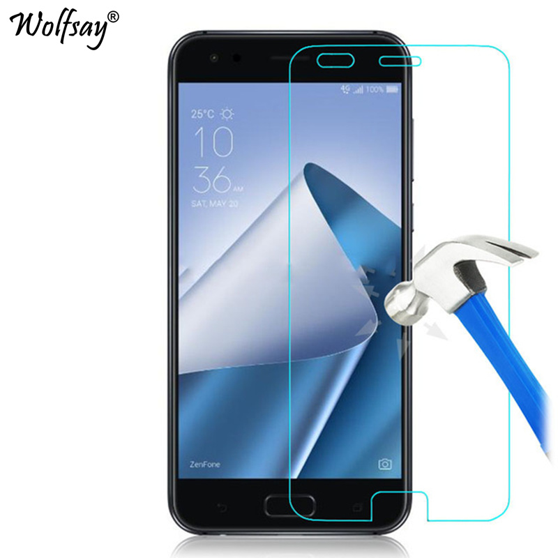 2PCS SFor Tempered Glass Asus Zenfone 4 ZE554KL Screen Protector Ultra-Thin Protective Film For Asus Zenfone 4 ZE554KL Glass
