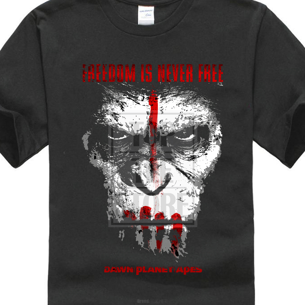 New Popular Most War Planet Of The Apes MenS Black T Shirt S 3Xl ...