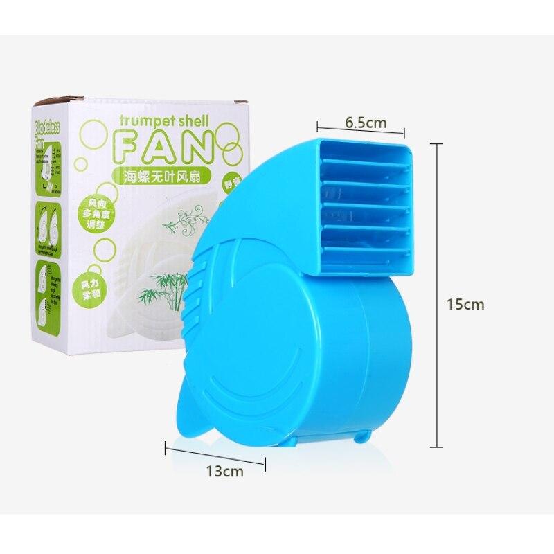 Portable Mini ABS Ventilator Cooling Desktop PC Dual Bladeless Air - Huishoudapparaten - Foto 6
