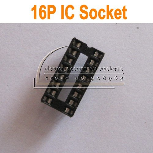 Электрические контакты 100 ./ic Socket 16