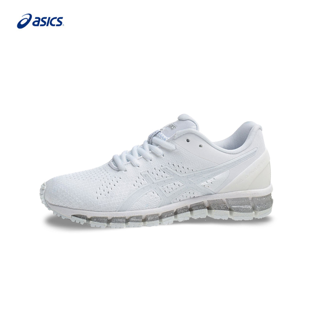 Original ASICS GEL-QUANTUM 360 KNIT Men s Stability Running Shoes White  Sports Shoes Sneakers Outdoor Walkng Jogging T728N c00acd0cf224