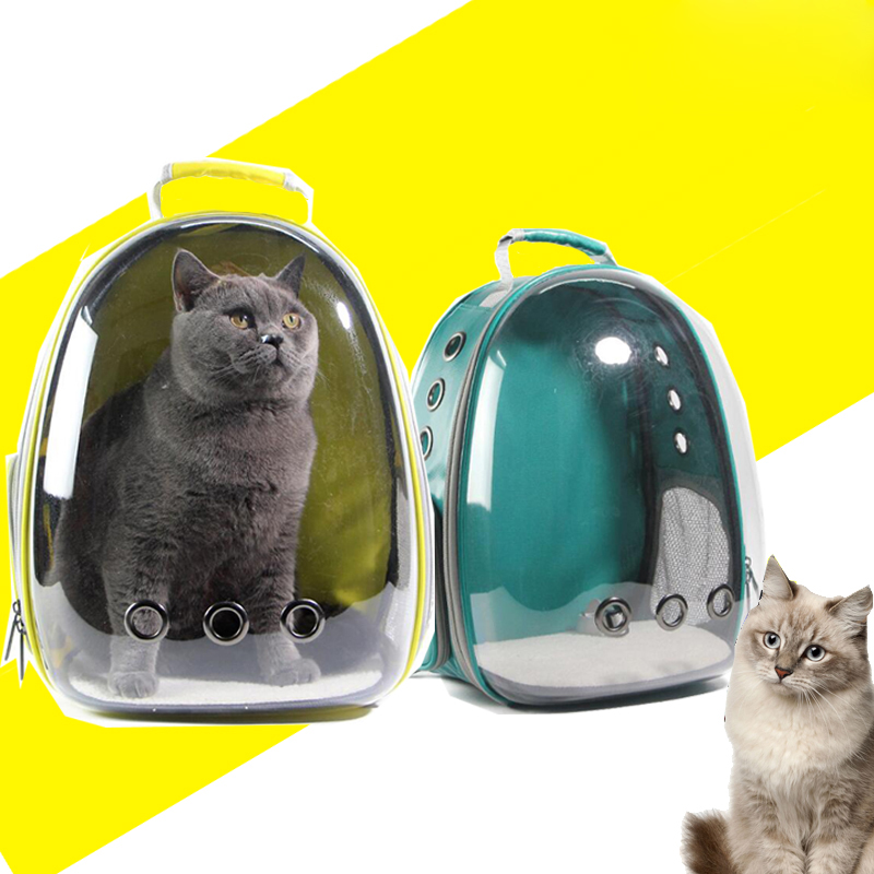 1pc Pet Travel Bag Transparent Pet Backpack Breathable Kitty Puppy Chihuahua Small Dog Cat Shoulder Carrier Crate Outdoor Cave #5