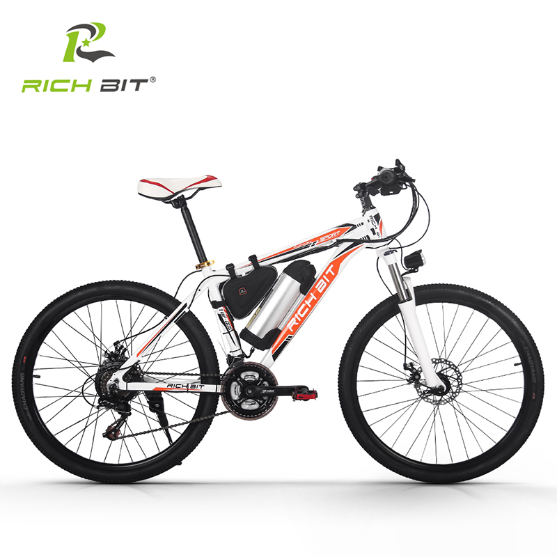 RichBit RT-006 Electric Bike 36V*10.4Ah Lithium Battery Mountain Electric Bicycle 26 inch 21 Speeds MTB EBike 250W Cycling ebike richbit new aluminum mountain bike frame