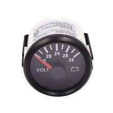 52mm Digital Voltmeter for Car Volt Gauge 8~16V Boat Motorcycle Car Voltmeter Gauge 12v 24v Volts