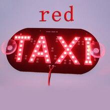 Bj такси кабина ветрового лобовое светодиодных знак индикатор привело стекло синий