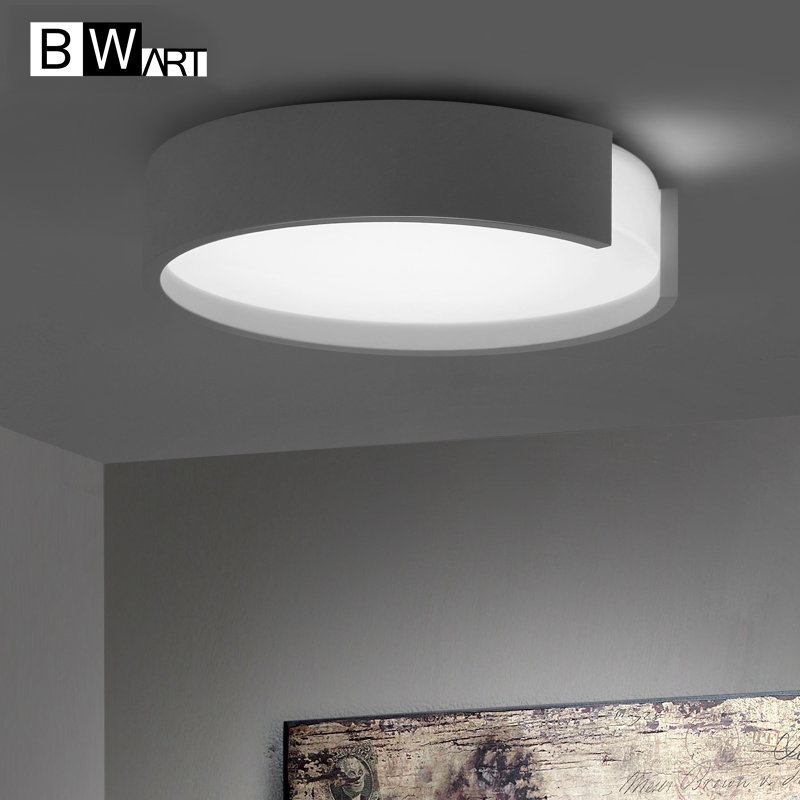 Black White art Modern LED ceiling light Round simple led-lamp ceiling-lights dining room balcony bedroom living room lamp ceiling light living room is dome light round american idyllic corridor scandinavian simple balcony antique bedroom lamp 1852