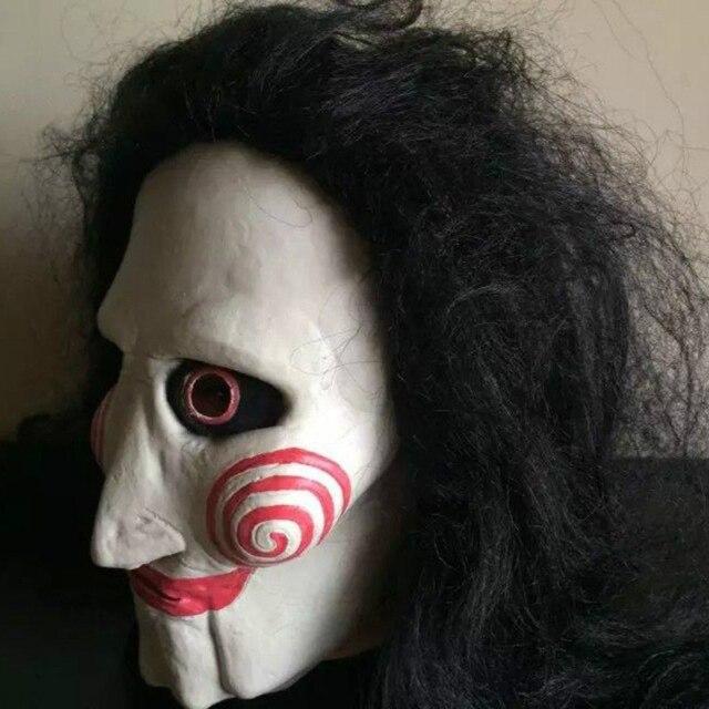 jigsaw by meganleeretouching jigsaw by meganleeretouching source scary saw killer masks horror movie cosplay props adult latex jigsaw