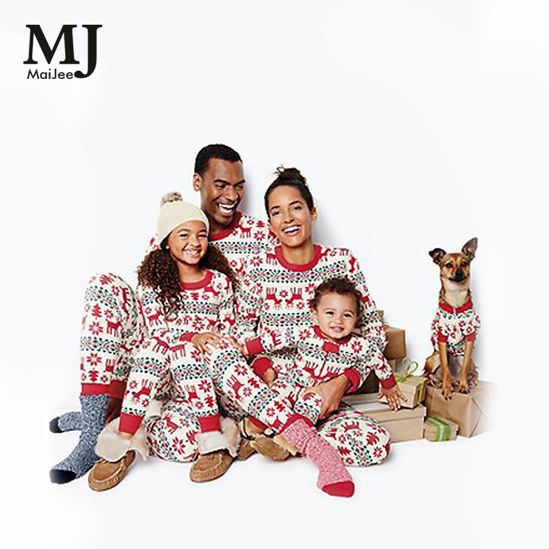 maijee family christmas pajamas family pyjamas kids homewear pijama feminino plus size pyjama femme pijamas sets plus size in pajama sets from womens