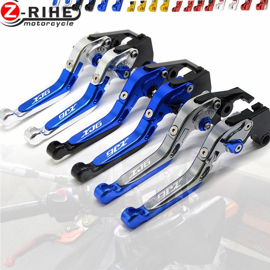 Motorcycle Accessories CNC Billet Aluminum Folding Extendable Brake Clutch Levers For YAMAHA XJ6 DIVERSION 2009-2015 2010 2011