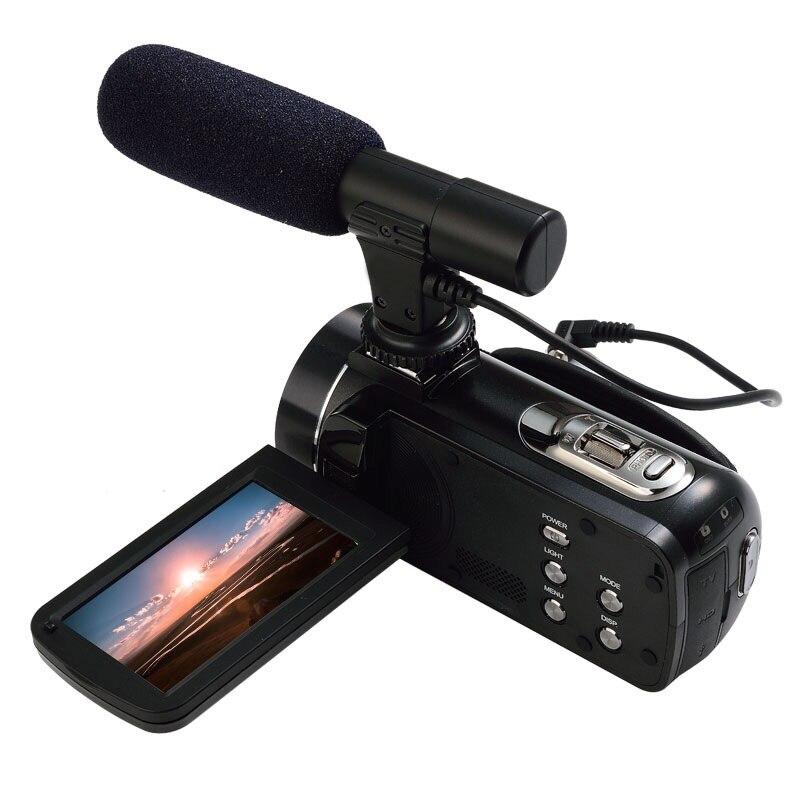 Ordro Z20 FHD 1080 P 24MP caméra vidéo numérique avec WiFi, écran tactile et Support micro externe
