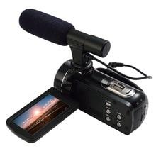 Ordro Z20 FHD 1080 P 24mp цифрового видео Камера с Wi-Fi, Сенсорный экран и внешнего микрофона Поддержка