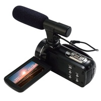 Ordro Z20 FHD 1080P 24MP Digital Video Camera With WiFi, Touch Screen and External MIC Support