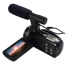 Ordro Z20 Home Use FHD 1080P 24MP Digital Video Camera With Touch Screen and External MIC Support
