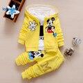 Kids Girls Boys Clothes Children's Clothing Set  Autumn 2017 New Style Toddler Kids Clothes Cotton 3pcs Coat T-shirt Pants