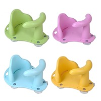 Baby Bath Seat Ring Tub Infant Child Toddler Kids Anti Slip Safety Chair 4Colors