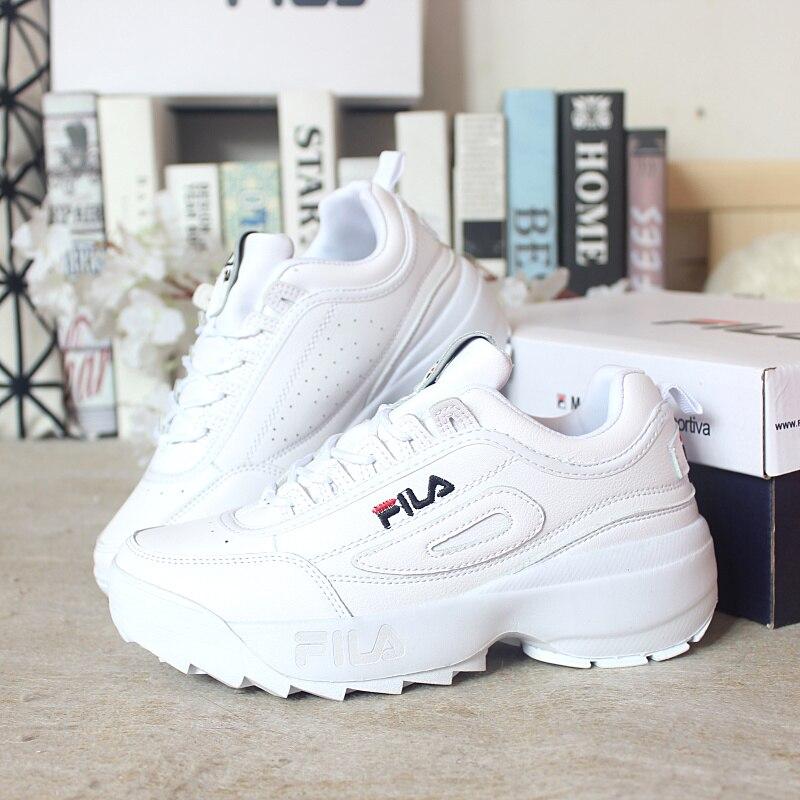 Mode Dame décontracté Blanc Chaussures Femmes Sneaker Noir Loisirs À Semelles Épaisses Chaussures Appartements Croix-attaché à lacets sneakers femme étudiant