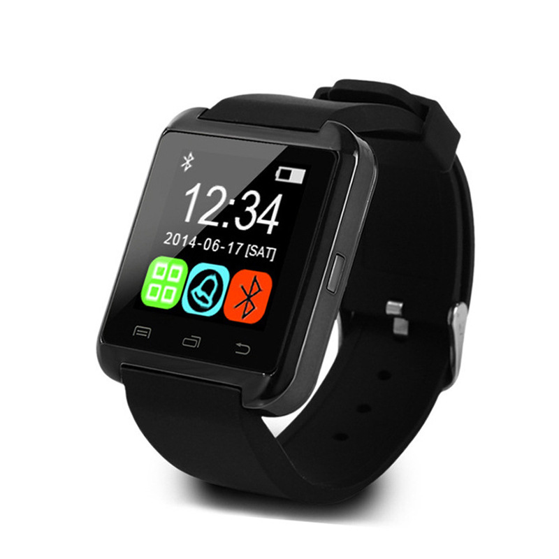 imágenes para Bluetooth Inteligente Reloj Pasómetro Cámara U8 Pro Muñeca Smartwatch para iPhone 6/6 s/7/7 s Samsung S4/Note/s6 HTC Android IOS Relojes