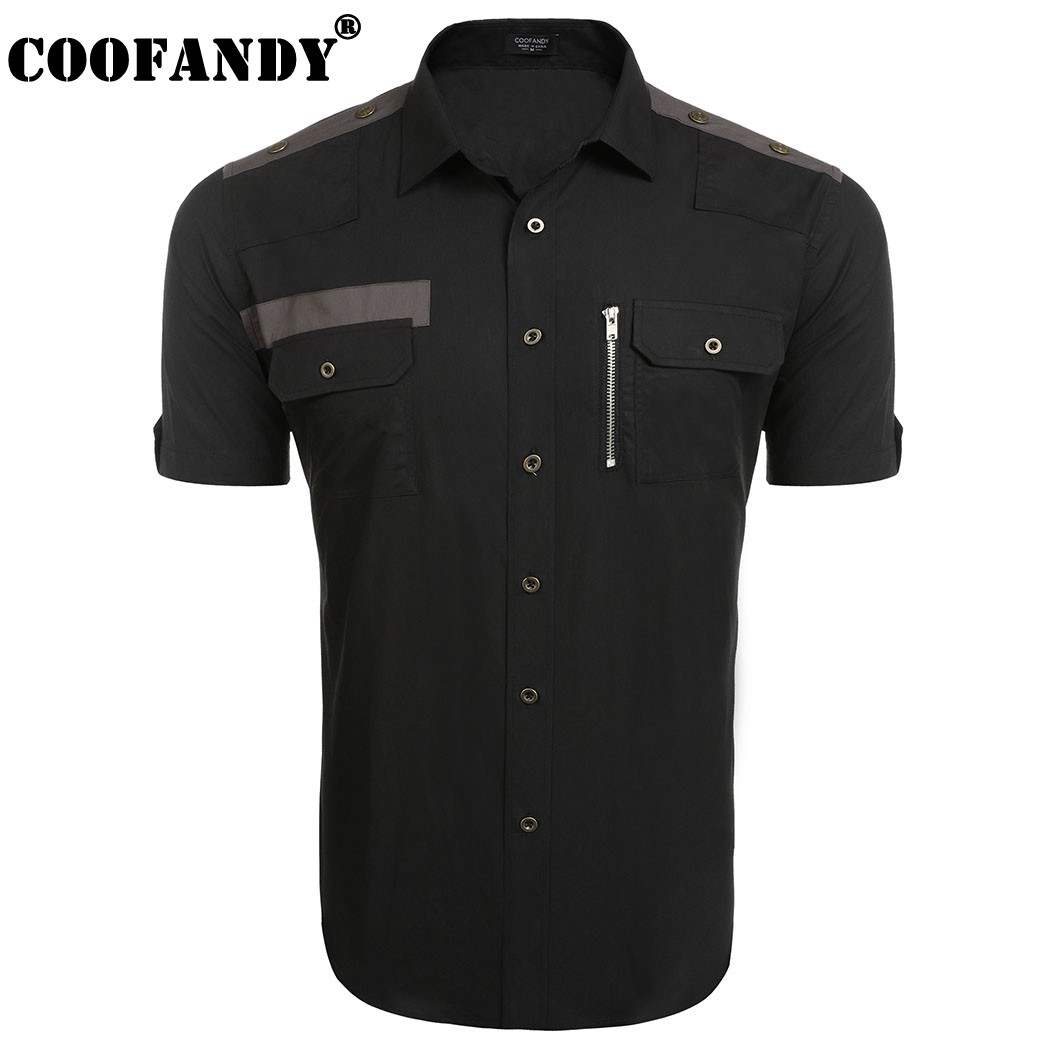Men's Button Down Short Sleeve Shirts Promotion-Shop for ...