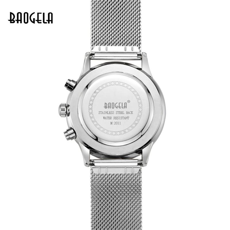 2019 New Listing Men Fashion Casual Watch Stainless Steel Men Quartz Watch Multi-function Business Watch Relogio Masculino