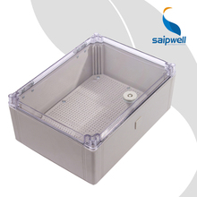 Hot Sale !!!  CE Approved Grey IP66 SP-AT-403016  ABS  Waterproof Junction Box  Box with  PC cover
