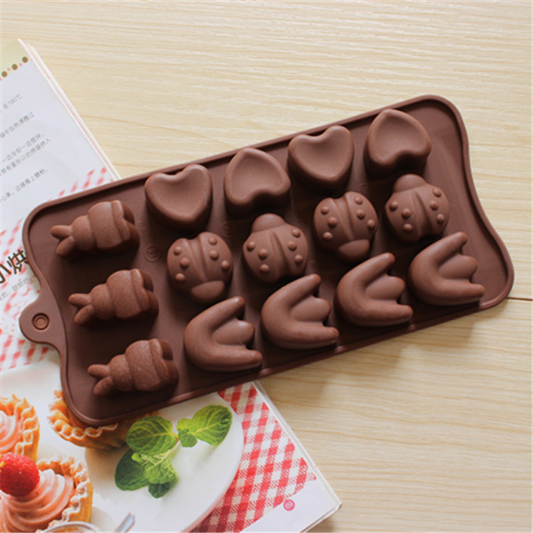 US $2 96 16% OFF|Food Grade Silicone Cake Mold Chocalate Mould Cooking  Tools Cake Mold Baking Mold Animal Shape for Kids Gift-in Cake Molds from  Home