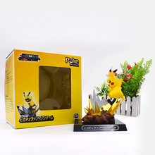 Anime Cute GK Pikachu PVC Figurine PVC Action Figure Dolls Collection Model Christmas Gift Toy Great Gift For Kids 11 cm 24cm pvc deadpool action figure breaking the fourth wall scene dead pool kids birthday christmas model gift toys