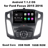 1024 600 Octa Core 9 Android 6 0 Car Audio DVD GPS For Ford Focus 2015