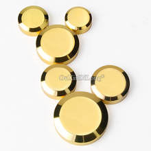 Express Shipping 200PCS European Brass Advertisement Nails Acrylic Billboard Glass Mirror Screws Decorative Covers Caps