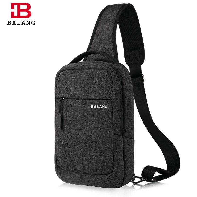 BALANG Famous Brand Men Women Single Sling Shoulder Strap Chest Pack Bag  Travel Bag Shoulder Messenger 91d598d2b1bbc
