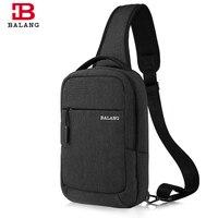 Сумка-мессенджер BALANG  для мужчин и женщин  на одно плечо  нагрудный ремень  сумка для путешествий  для Ipad