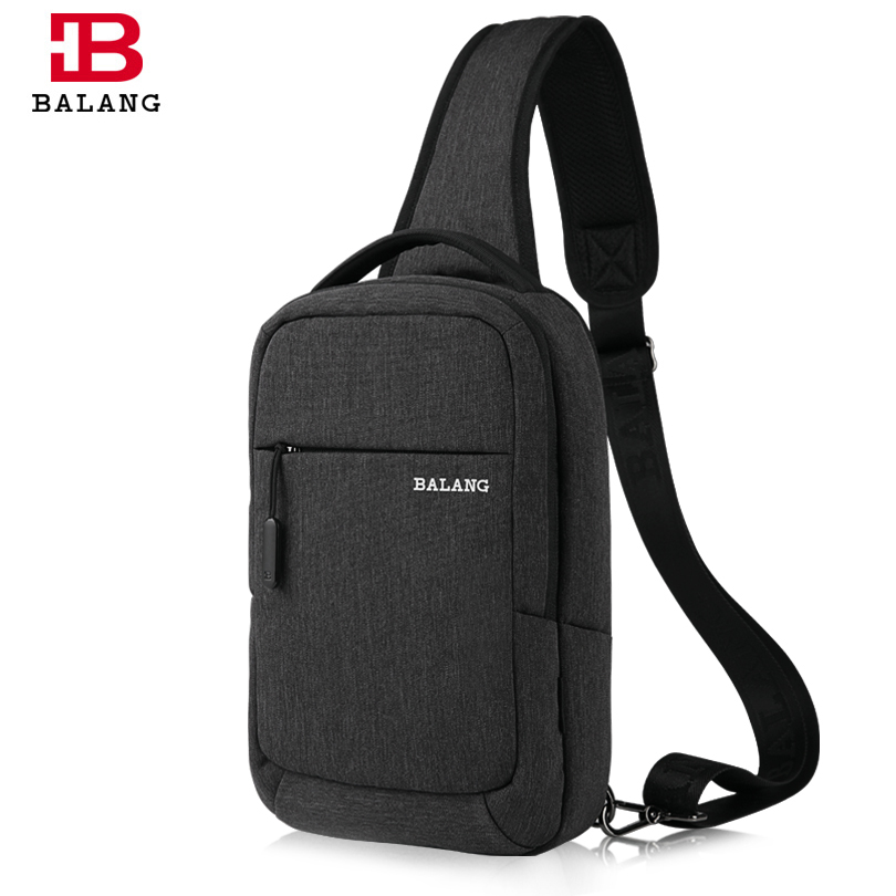 цена на BALANG Famous Brand Men Women Single Sling Shoulder Strap Chest Pack Bag Travel Bag Shoulder Messenger Cross Body Bags for Ipad