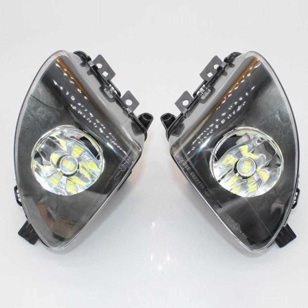 2 pièces Pour BMW Série 5 F10 F11 520i 523i 528i Avant LED Feu Antibrouillard Antibrouillard 63177216885 63177216886 Avec Cadeaux