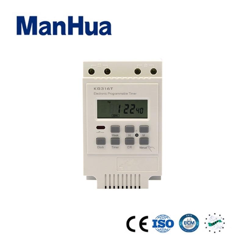 Herzhaft Manhua Programmierbare Wöchentlich 220 V Für Outdoor Und Indoor Zeit Kg316t Control Digitale Timer Schalter Professionelles Design Werkzeuge