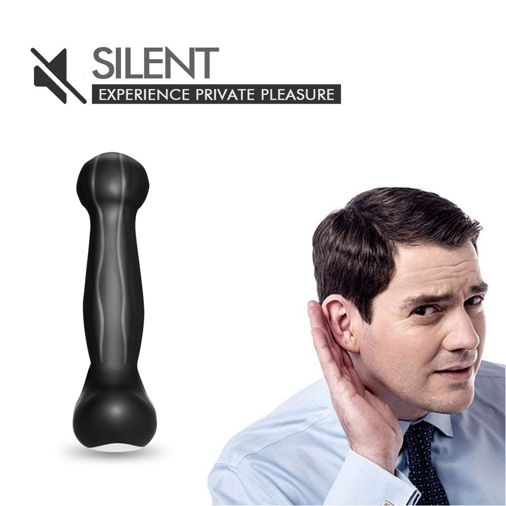 _07Silicone Prostate Vibrator For Men Gay Butt Plug Anal Sex Toys Waterproof Anal Vibrator Massager Rechargeable Male Masturbator