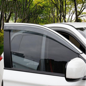 Brand New For Mitsubishi Outlander 2018 Stainless Steel Car Window Rain Eyebrow Sun Visor Cover Trims Car Styling Auto Accessory