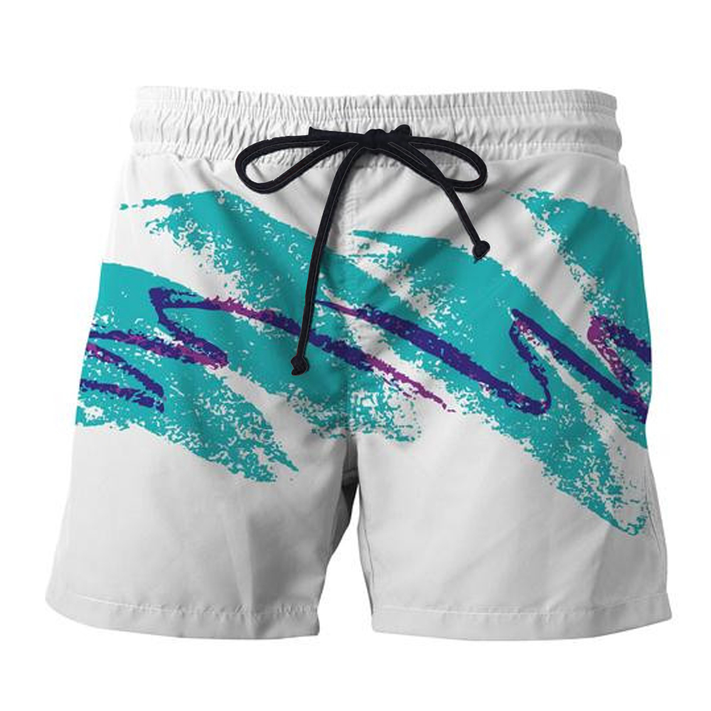 YX GIRL Free Shipping 2018 Summer New Style Mens Shorts 90s Jazz Solo Paper Cup 3D Printed Men/Women Casual Shorts