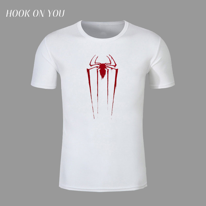 Superhero Movie Batman spider man t-shirt Printed boys shirt modal short sleeve top tee funny t shirt for men brand cloth